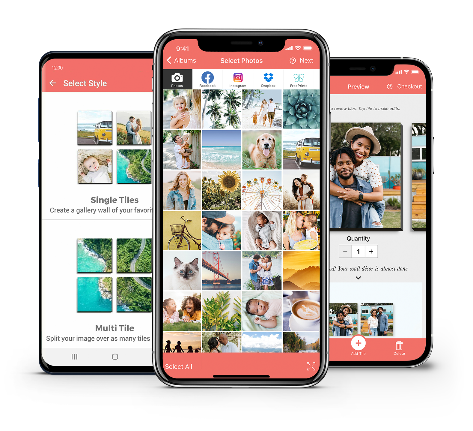Get A Free Photo Tile Every Month Freeprints Photo Tiles App